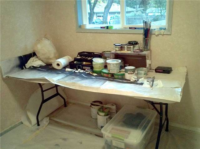Painting work table