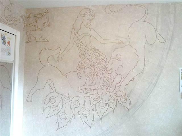 Virgo, Lupus, Leo, Pavo, Hercules