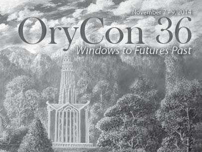 Front page cover of OryCon36 Pocket Program