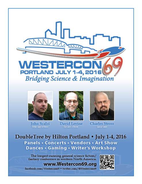 Westercon69 full page ad, flyer